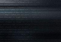 黒バックのITイメージ