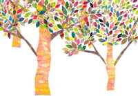 カラフルな木のイラスト 02427000041| 写真素材・ストックフォト・画像・イラスト素材|アマナイメージズ