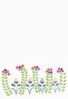 カラフルなお花