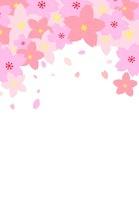 桜のコラージュ