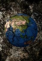 ひび割れた地球