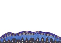 町並みと夜空 02427000193| 写真素材・ストックフォト・画像・イラスト素材|アマナイメージズ