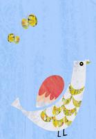 鳥と蝶々 02427000208| 写真素材・ストックフォト・画像・イラスト素材|アマナイメージズ