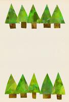 木々のイラスト