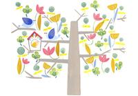 鳥の住む木