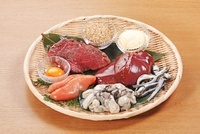 亜鉛を多く含む食材 02428000104| 写真素材・ストックフォト・画像・イラスト素材|アマナイメージズ