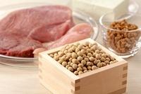 たんぱく質を多く含む食材 02428000122| 写真素材・ストックフォト・画像・イラスト素材|アマナイメージズ