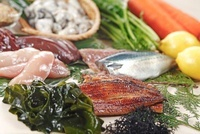 髪に良い栄養素を含む食材 02428000144| 写真素材・ストックフォト・画像・イラスト素材|アマナイメージズ