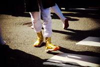 金の地下足袋 02431000005| 写真素材・ストックフォト・画像・イラスト素材|アマナイメージズ