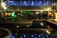 六甲アイランドのイルミネーション 02431000026| 写真素材・ストックフォト・画像・イラスト素材|アマナイメージズ