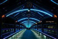 六甲アイランドのイルミネーション 02431000031| 写真素材・ストックフォト・画像・イラスト素材|アマナイメージズ