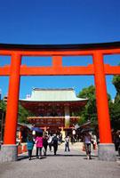 生田神社 02431000043| 写真素材・ストックフォト・画像・イラスト素材|アマナイメージズ