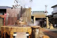 有馬天神社の天神泉源 02431000074| 写真素材・ストックフォト・画像・イラスト素材|アマナイメージズ