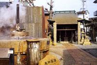 有馬天神社の天神泉源 02431000075| 写真素材・ストックフォト・画像・イラスト素材|アマナイメージズ