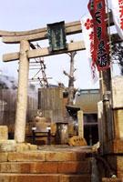 有馬天神社の天神泉源 02431000079| 写真素材・ストックフォト・画像・イラスト素材|アマナイメージズ