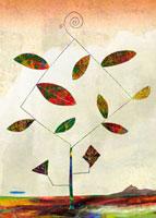 秋の葉 02432000049| 写真素材・ストックフォト・画像・イラスト素材|アマナイメージズ