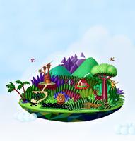 空に浮かぶジャングル