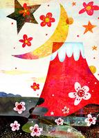 赤富士 02432000403| 写真素材・ストックフォト・画像・イラスト素材|アマナイメージズ