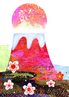 赤富士 02432000488| 写真素材・ストックフォト・画像・イラスト素材|アマナイメージズ
