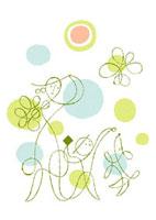 庭で遊ぶ母と子供と犬のイメージ 02438000031| 写真素材・ストックフォト・画像・イラスト素材|アマナイメージズ