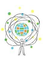 人と地球 02438000069| 写真素材・ストックフォト・画像・イラスト素材|アマナイメージズ