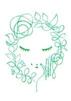 女性の顔(オーガニックイメージ) 02438000088| 写真素材・ストックフォト・画像・イラスト素材|アマナイメージズ
