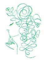 横顔の女性 (オーガニックイメージ) 02438000089| 写真素材・ストックフォト・画像・イラスト素材|アマナイメージズ