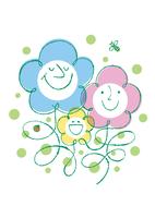 家族と春のイメージ