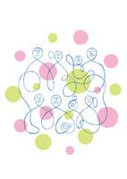 三世帯家族と親戚 02438000178| 写真素材・ストックフォト・画像・イラスト素材|アマナイメージズ