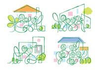 色々な家族と家