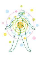 女性の身体の健康的なイメージ