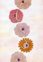 花のスカートを穿いた女性たち