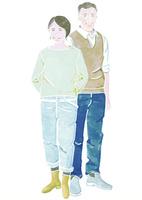 シニアの夫婦 02461000038| 写真素材・ストックフォト・画像・イラスト素材|アマナイメージズ