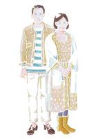 シニアの夫婦 02461000039| 写真素材・ストックフォト・画像・イラスト素材|アマナイメージズ