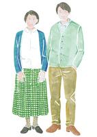 シニアの夫婦