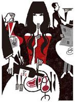 一人で食事をする女性 02463000004| 写真素材・ストックフォト・画像・イラスト素材|アマナイメージズ