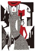 ガイドブックを片手に街中を歩く女性 02463000005| 写真素材・ストックフォト・画像・イラスト素材|アマナイメージズ
