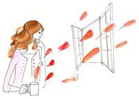 窓際でマグカップを持っている女性、カップからハート 02463000030| 写真素材・ストックフォト・画像・イラスト素材|アマナイメージズ