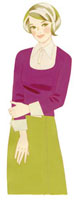 微笑んでいる女性 02463000050| 写真素材・ストックフォト・画像・イラスト素材|アマナイメージズ