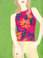 女性の口から下のイラスト 02463000141| 写真素材・ストックフォト・画像・イラスト素材|アマナイメージズ
