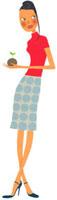 苔玉を持っている女性 02463000188| 写真素材・ストックフォト・画像・イラスト素材|アマナイメージズ