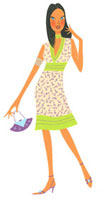 ドレスアップした女性 02463000191| 写真素材・ストックフォト・画像・イラスト素材|アマナイメージズ