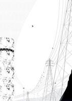 鉄塔と鳥 02463000388| 写真素材・ストックフォト・画像・イラスト素材|アマナイメージズ