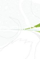 白鳥と橋と海岸 02463000395| 写真素材・ストックフォト・画像・イラスト素材|アマナイメージズ