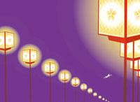 燈篭と飛行機 02463000430| 写真素材・ストックフォト・画像・イラスト素材|アマナイメージズ