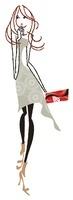 ハンドバックをもって歩いている女性 02463000731| 写真素材・ストックフォト・画像・イラスト素材|アマナイメージズ