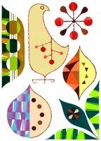 鳥と植物 02463000750| 写真素材・ストックフォト・画像・イラスト素材|アマナイメージズ