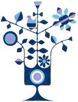 青い木 青い鳥 青い花 02463000751| 写真素材・ストックフォト・画像・イラスト素材|アマナイメージズ