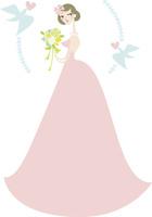 ウエディングドレスを着た女性 02463001255| 写真素材・ストックフォト・画像・イラスト素材|アマナイメージズ