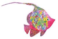 熱帯魚のモチーフ 02463001383| 写真素材・ストックフォト・画像・イラスト素材|アマナイメージズ